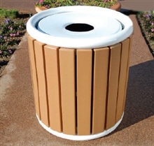 Steel Top Litter Receptacle